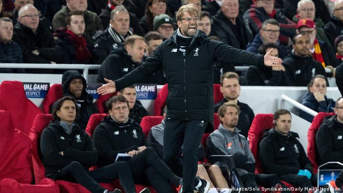 Jürgen Klopp (picture-alliance/Solo Syndication/Daily Mail/I. Hodgson)
