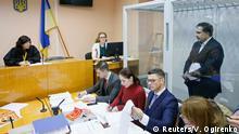 Ukraine Kiew Gerichts-Anhörung Micheil Saakaschwili