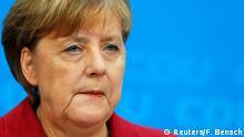 Deutschland Koalitionsgespräche Merkel PK in Berlin