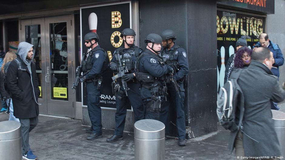 انفجار در نیویورک و دستگیری یک فرد مظنون