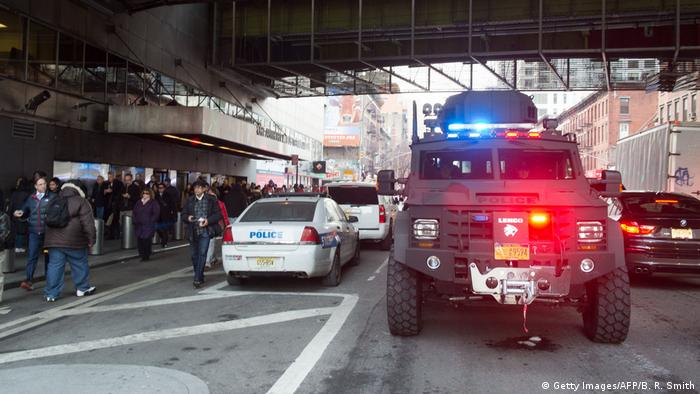 USA Explosion in New York (Getty Images/AFP/B. R. Smith)