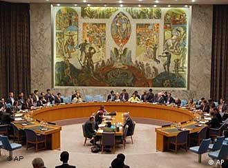 Weltsicherheitsrat während einer Sitzung(Foto: AP)