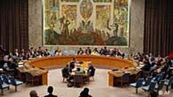 Sitzungssaal des Weltsicherheitsrates (Foto: AP)