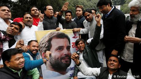 Нащадок династії Ганді очолив опозиційну партію Індії
