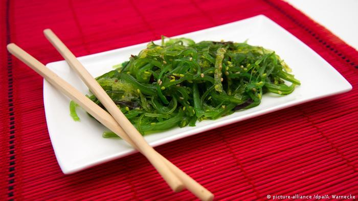 Seetang - Japanisches Essen - Algensalat