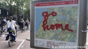 Niederlande, Tourismus-Überlastung (picture-alliance/P.Dejong)