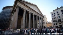 Pantheon temple in Rome (picture-alliance/S.Mamontov)