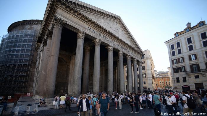 Italien, Pantheon-Tempel in Rom (picture-alliance/S.Mamontov)