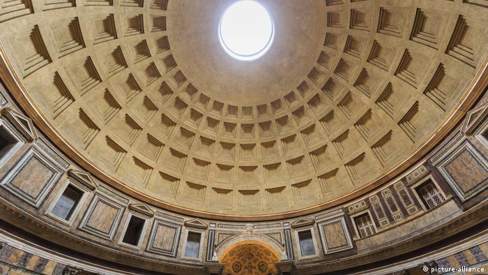 Italien, Pantheon-Tempel in Rom (picture-alliance)