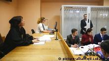 Ukrainischer Oppositioneller Saakaschwili vor Gericht
