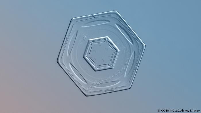 Snowflake: six-sided flat shape