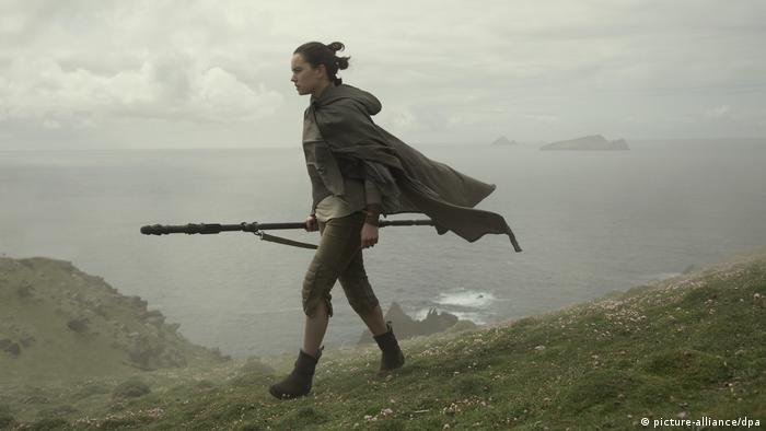Daisy Ridley in Star Wars: The Last Jedi (picture-alliance/dpa)