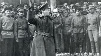 Sowjetrepublik Leo Trotzki (picture-alliance/akg-images)