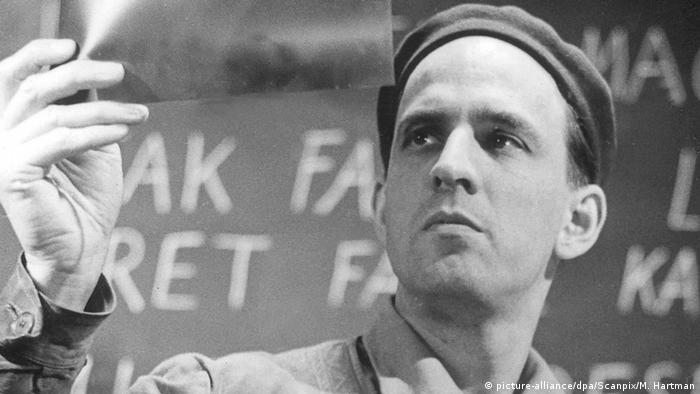Ingmar Bergman in Stockholm (picture-alliance/dpa/Scanpix/M. Hartman)