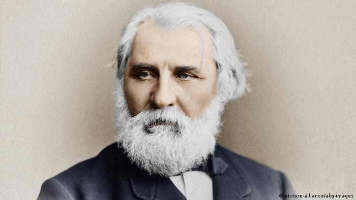 Иван Сергеевич Тургенев. Фото Карла Бергамаско, 1874