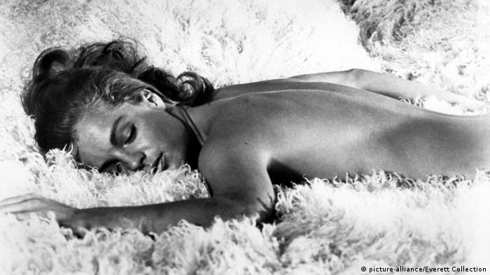 Роми Шнайдер в фильме Бассейн, 1969 год