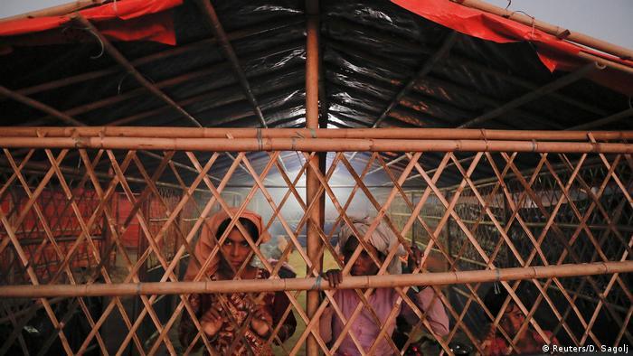Bangladesch Flüchlingslager für Rohingya-Witwen und Weisen (Reuters/D. Sagolj)