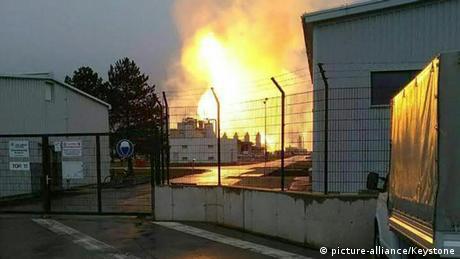 Один з ключових газових хабів Європи знову запрацював після вибуху
