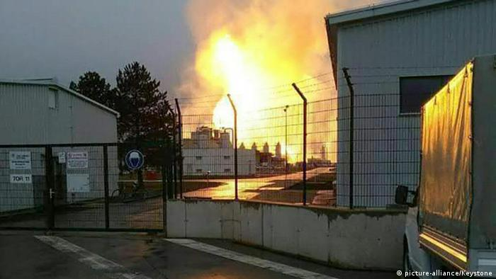 OESTERREICH EXPLOSION GASSTATION (picture-alliance/Keystone)