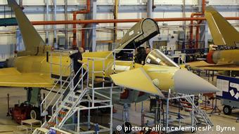 На сборке истребителей Eurofighter Typhoon в Великобритании