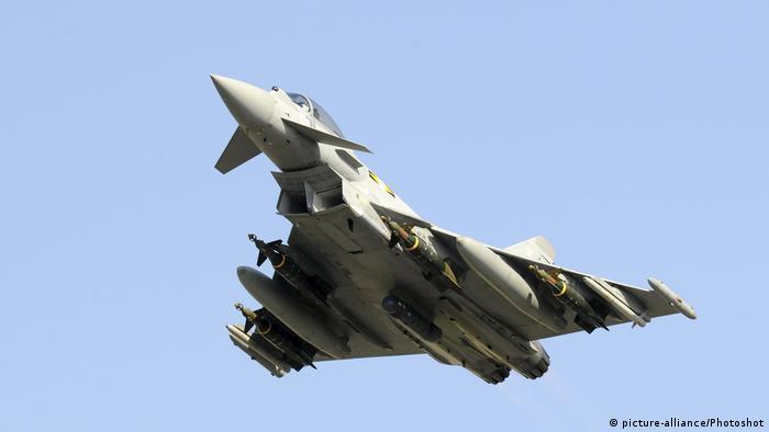 Eurofighter Typhoon, Mehrzweckkampfflugzeug (picture-alliance/Photoshot)