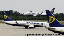 Ryanair (picture-alliance/AP Photo/M. Dunham)