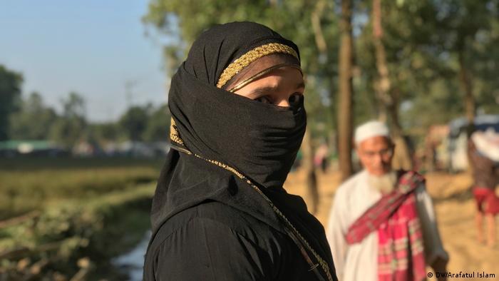Rohingya-Frauen werden als Sexsklaven in Bangladesch verkauft (DW/Arafatul Islam)