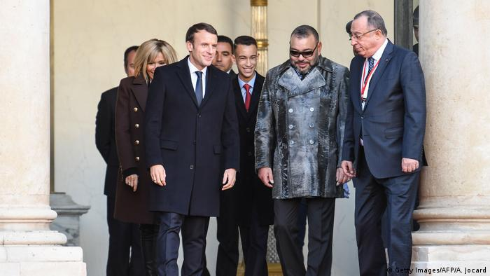 ملك المغرب في زيارة سابقة لفرنسا