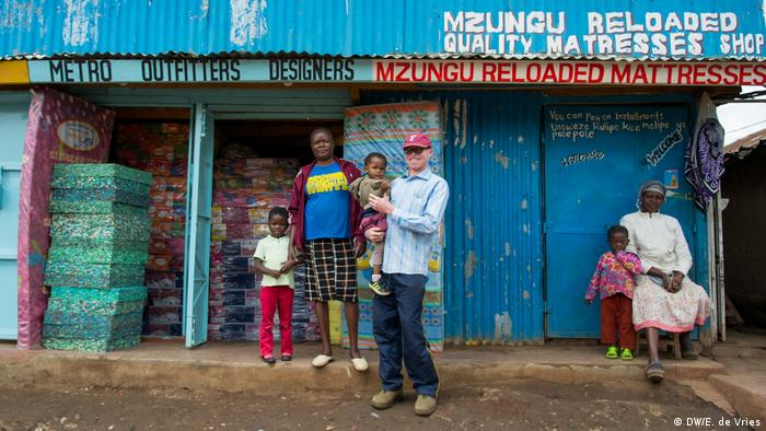 The 77 Percent Living with albinism in Kenya (DW/E. de Vries)