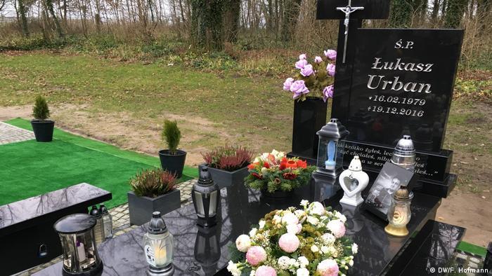 Гробът на Лукаш Урбан