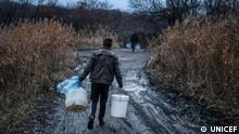 Ukraine UNICEF Wasser-Projekt in Donbass