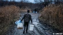 +++Nur im Rahmen der abgesprochenen Berichterstattung zu verwenden!+++ Donbass, Ukraine, October 24, 2017+++UNICEF Water Project in Donbass