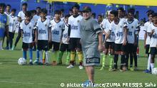 Indien Kalkutta - Diego Maradona