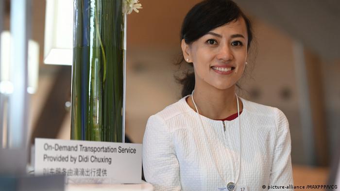 China Dailan - Geschäftsfrau Jean Liu Qing (picture-alliance /MAXPPP/VCG)