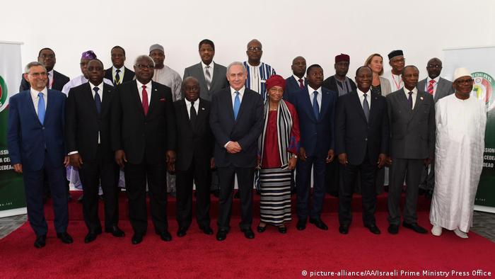 Benjamin Netanyahu na cimeira da CEDEAO em junho