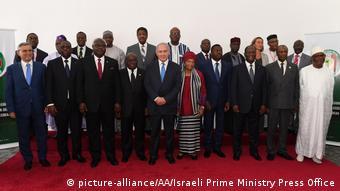 Liberia Israelischer Ministerpräsident Benjamin Netanjahu bei ECOWAS