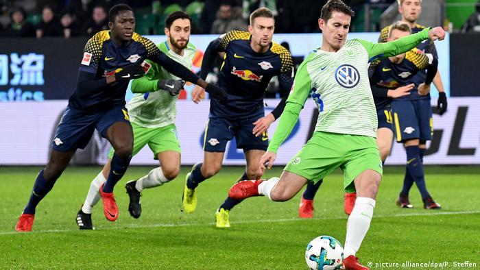 Bundesliga - VfL Wolfsburg v RB Leipzig (picture-alliance/dpa/P. Steffen)