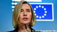 Federica Mogherini Hohe Vertreterin der EU für Außen- und Sicherheitspolitik