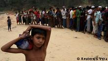 Bangladesch Rohingya Flüchtlinge