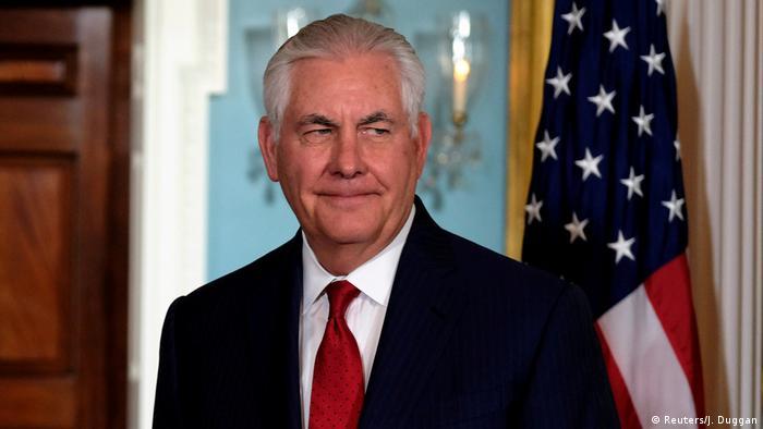 USA Aßenminister Rex Tillerson (Reuters/J. Duggan)