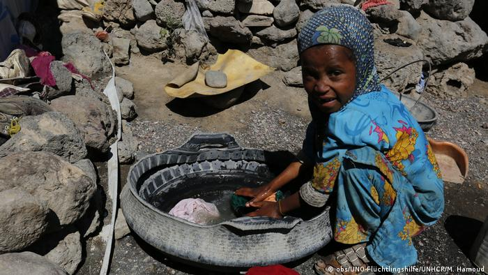 Hungersnot im Jemen, Südsudan und in Somalia (obs/UNO-Flüchtlingshilfe/UNHCR/M. Hamoud)