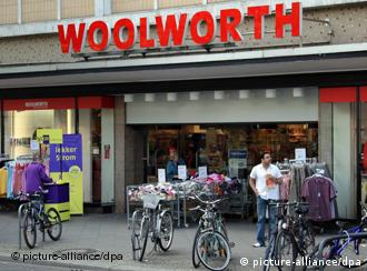 Exterior of a German Woolworth store