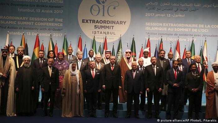 Türkei Sondergipfel der Organisation für Islamische Kooperation (OIC) (picture-alliance/AP Photo/L. Pitarakis)