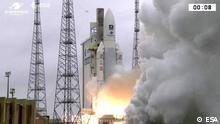 Liftoff of Ariane 5 Flight VA240 from Europe's Spaceport in Kourou, French Guiana took place at 18:36 UTC (19:36 CET, 15:36 local time) on Tuesday 12 December 2017, carrying Galileo satellites 19–22.