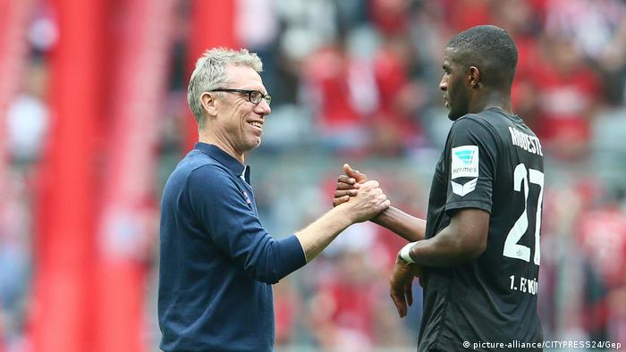 Peter Stöger and Anthony Modeste