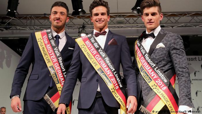 Mister Germany 2018 (picture-alliance/dpa/B.Wüstneck)