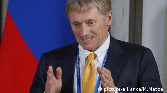 Der Sprecher des russischen Präsidenten Dmitri Peskow (picture-alliance/M.Metzel)