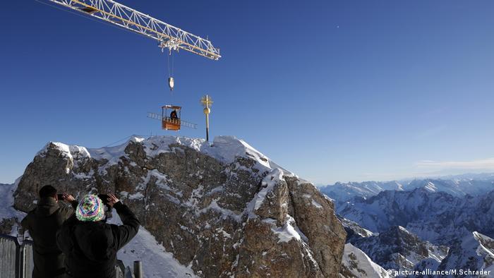 Deutschland, Zugspitze (picture-alliance/M.Schrader)