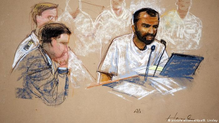Ammar al-Baluchi (right) has denied allegations that he assisted the perpetrators of the September 11, 2001 attacks
