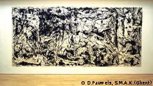Picassos Guernica im Stil von Jackson Pollock, 1980